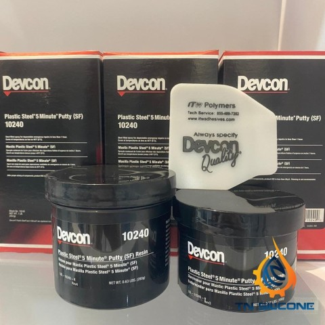 Mát tít Devcon 10240 Plastic Steel 5 Minute Putty 1lb