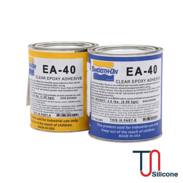 Chất kết dính epoxy Smooth-on EA-40 Clear 1,9kg/bộ