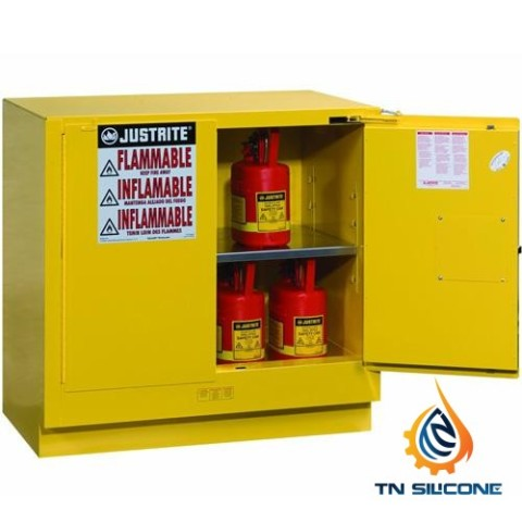 Justrite 892320 Flammable Safety Cabinet 22gallon