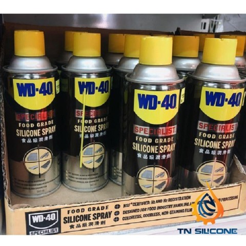Bình xịt WD-40 Specialist Food Grade Silicone 360ml