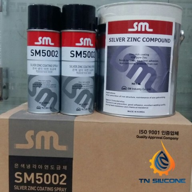 Bình xịt sơn mạ kẽm SM 5002 420ml