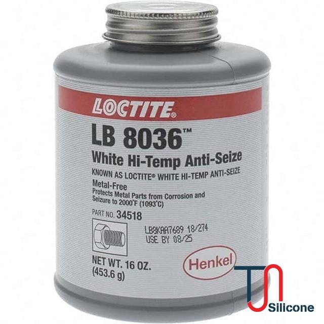 Mỡ trắng Loctite LB 8036 Hi-Temp Anti-Seize 453.6g