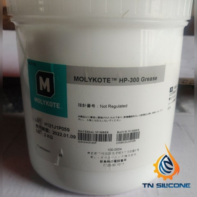 Mỡ bôi trơn Molykote HP-300 2kg