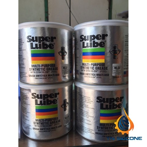 Mỡ đa năng Super Lube 41160 Synthetic Grease 400g