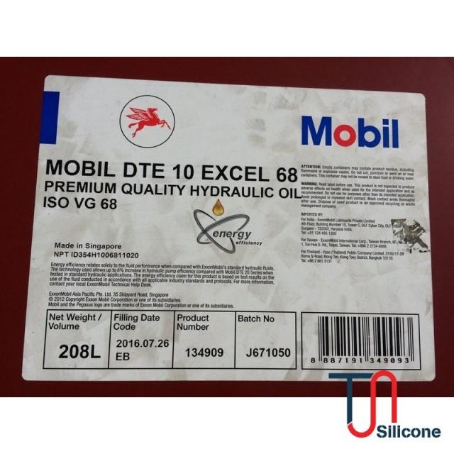 Dầu thủy lực Mobil DTE 10 Excel 68 208L