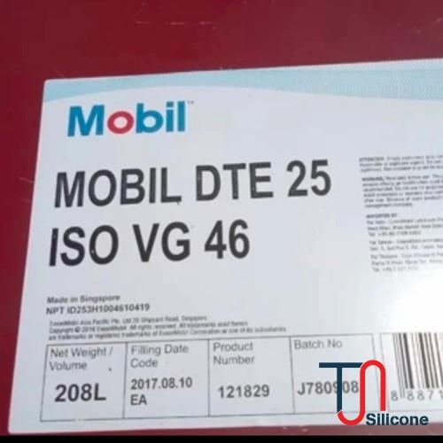Dầu thuỷ lực Mobil DTE 25 ISO VG 46 208L