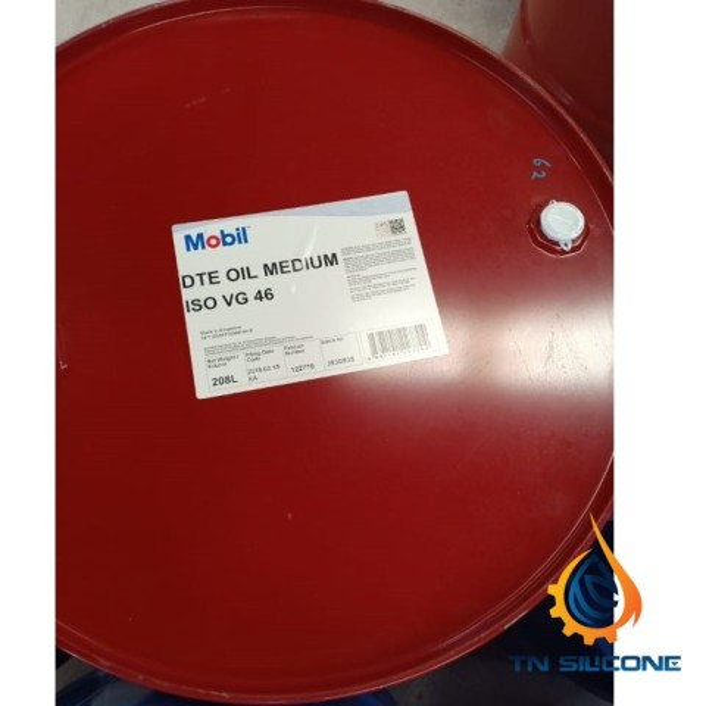 Dầu Mobil DTE Oil Medium ISO VG 46 208L