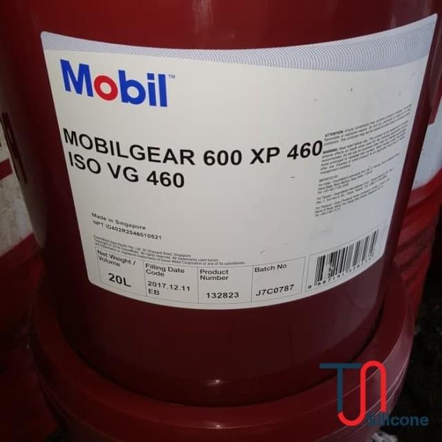 Dầu bánh răng Mobilgrease 600 XP 460 20L