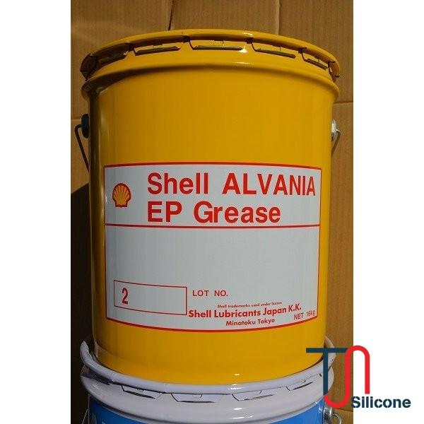 Mỡ đa dụng Shell Alvania EP 2 16kg