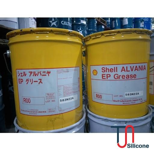 Mỡ đa dụng Shell Alvania EP R00 16kg